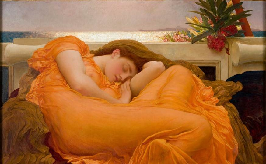 A visit to the 'Flaming June: The Making of an Icon' exhibition at Leighton House 16 March 2017