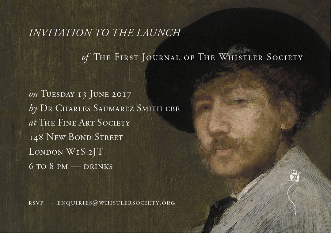 The Ten O'Clock – Launch of the first journal of the Whistler Society