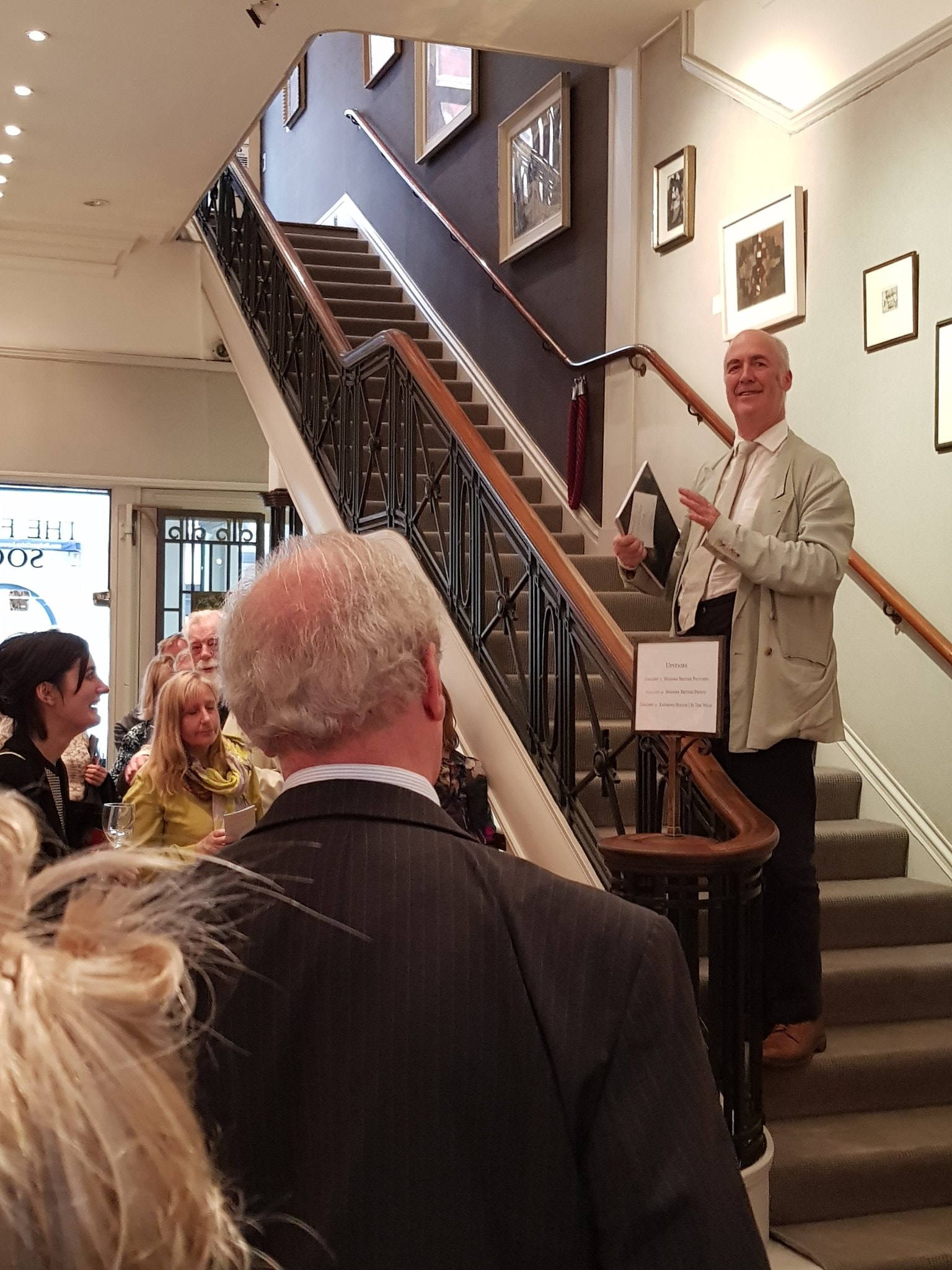 Launch of The Ten O'Clock at the Fine Art Society 13 June 2017 by Charles Saumarez Smith