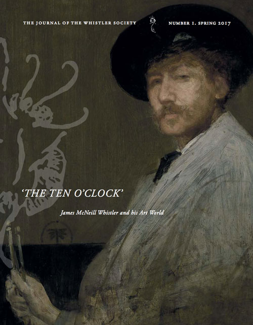 THE TEN O'CLOCK  –  Whistler Society Journal Number 1 – Spring 2017